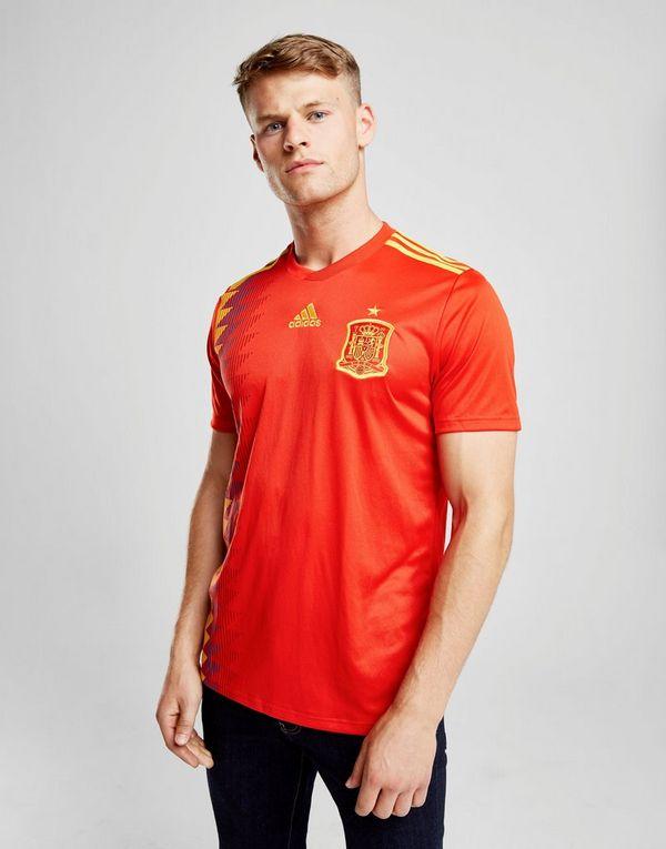 c8e456987 adidas Spain 2018 Home Shirt | JD Sports