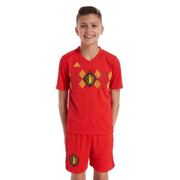 adidas camiseta Bélgica 2017/18 1.ª equipación júnior