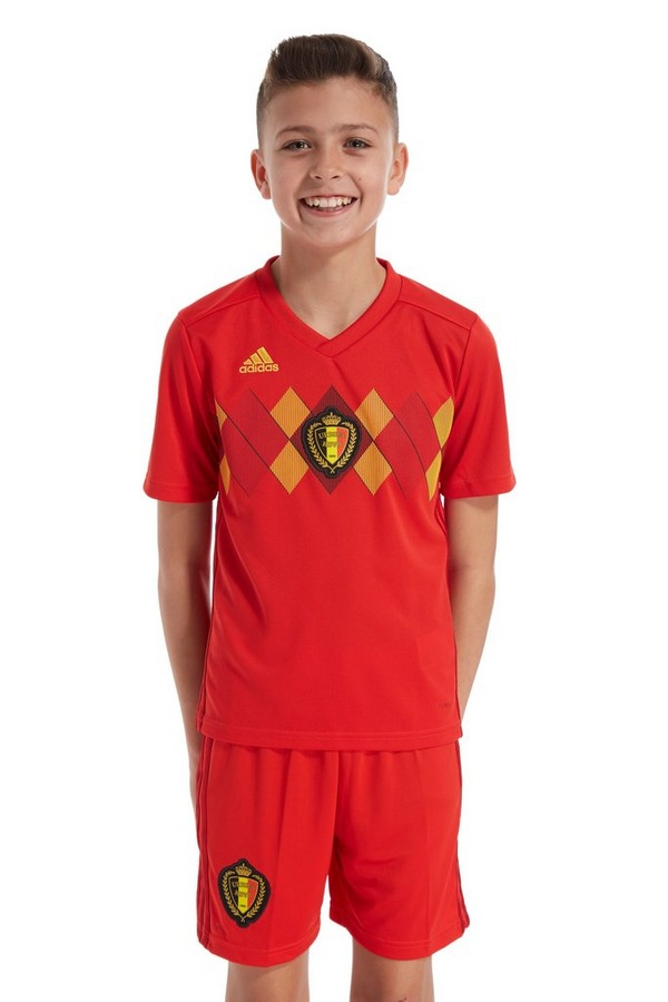 adidas Belgium 2018 Home Shirt Junior