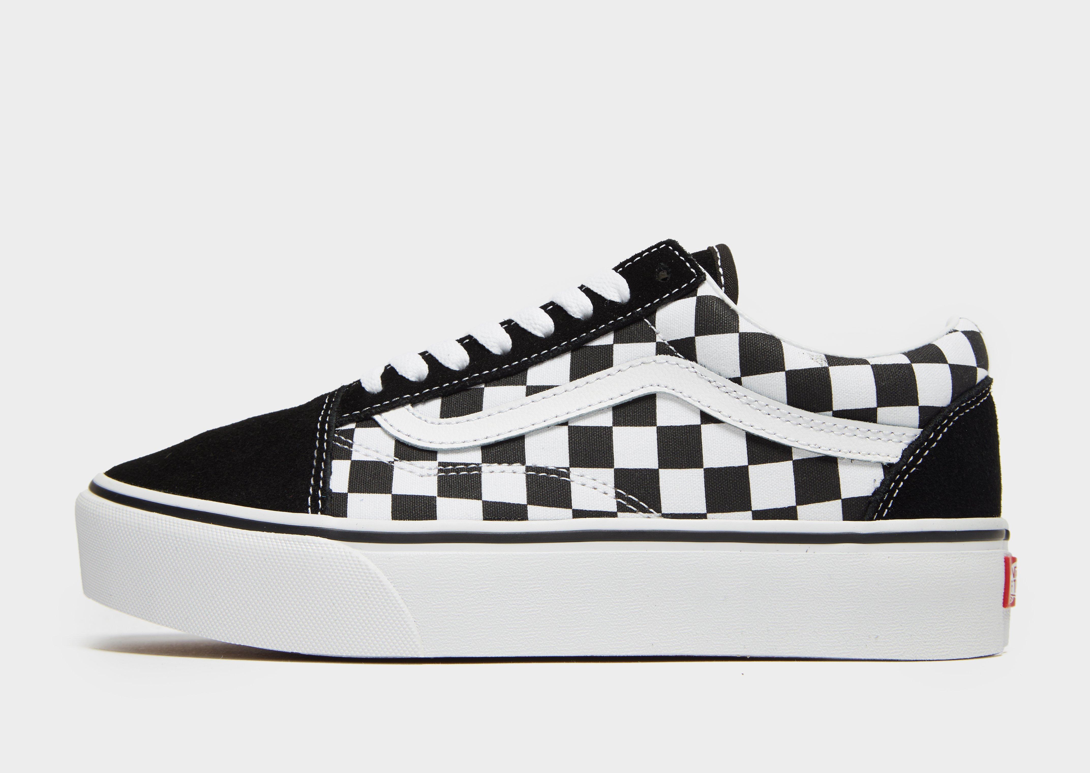 vans old skool checkerboard womens