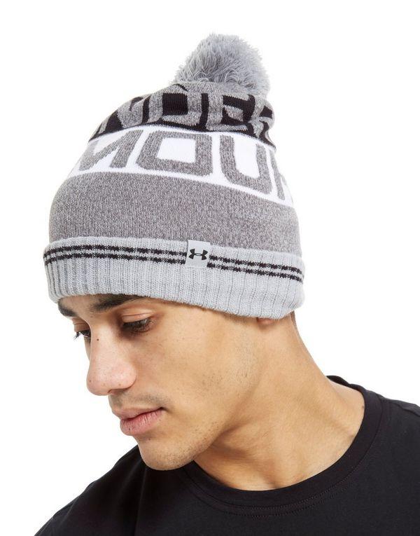 new style d4302 c8798 ... Under Armour Retro Pom 2.0 Beanie Hat ...