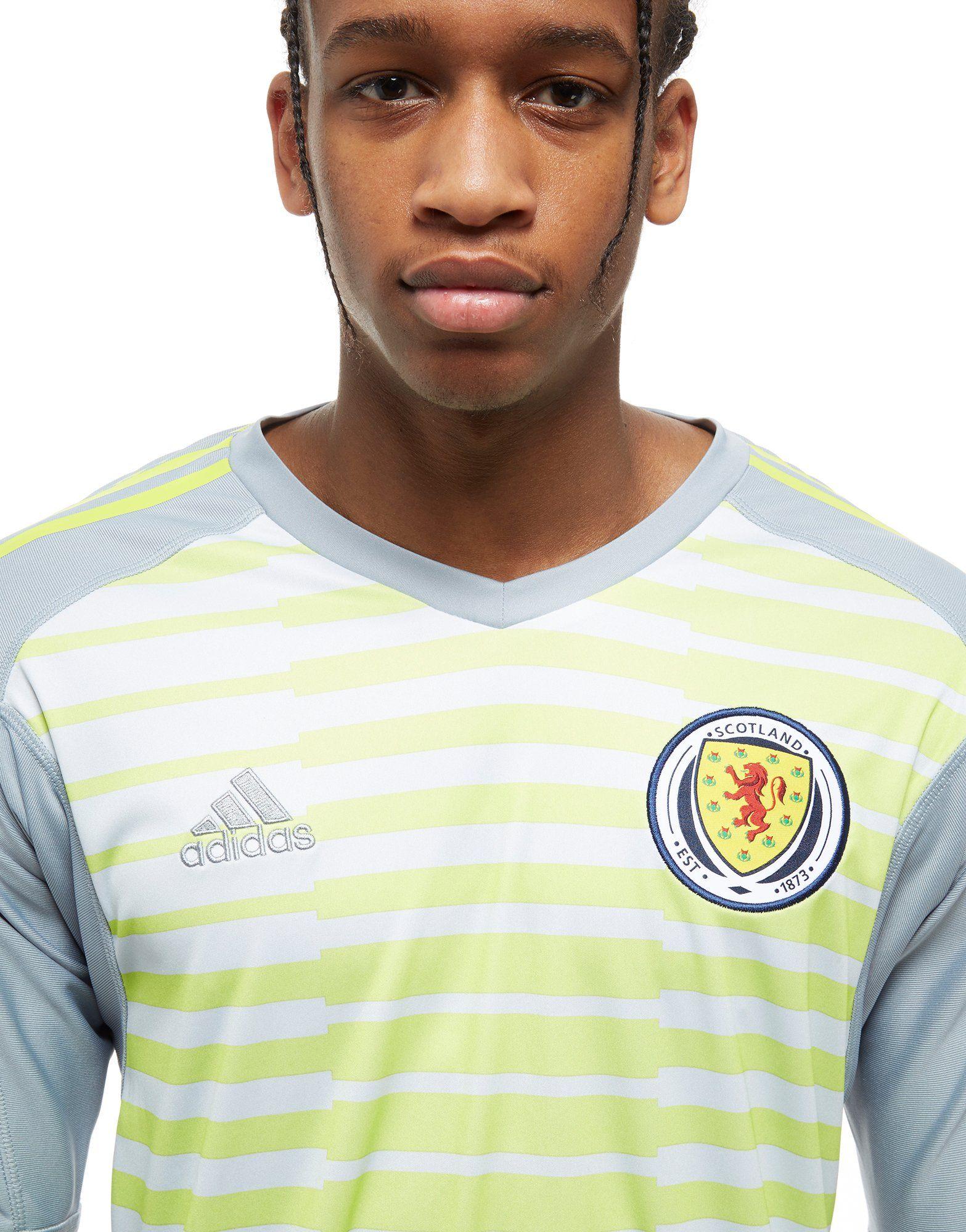 adidas Scotland 2018/19 Home Goalkeeper Shirt