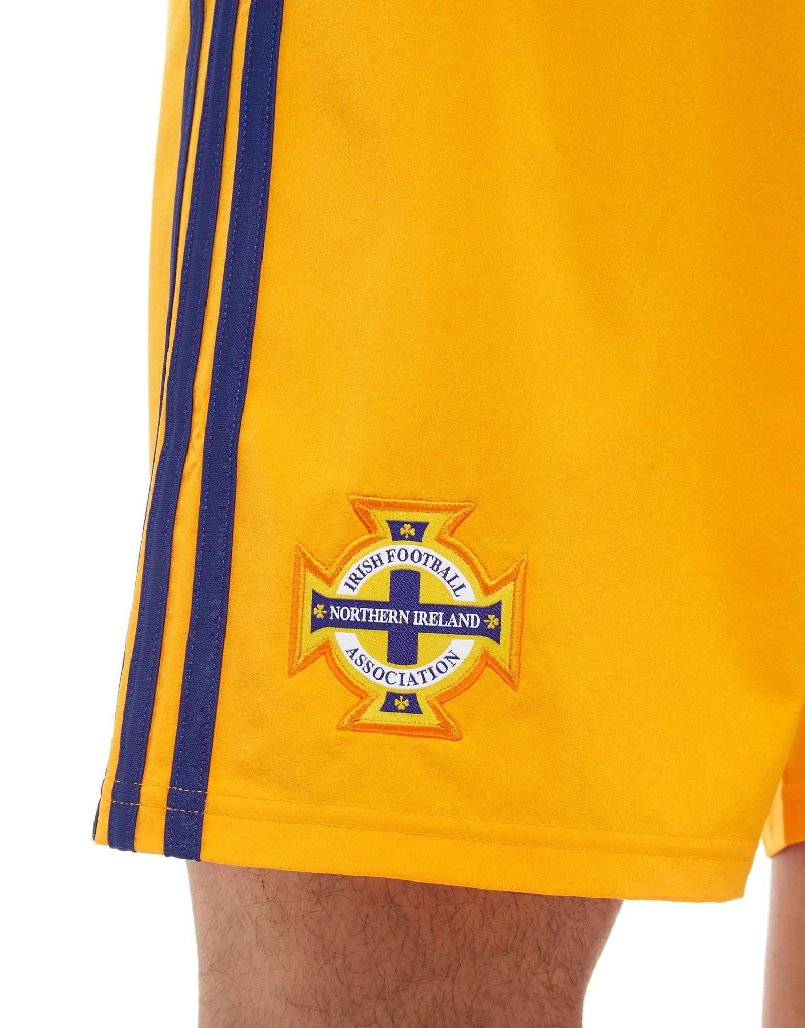 adidas Northern Ireland 2018 Home Goalkeeper Shorts