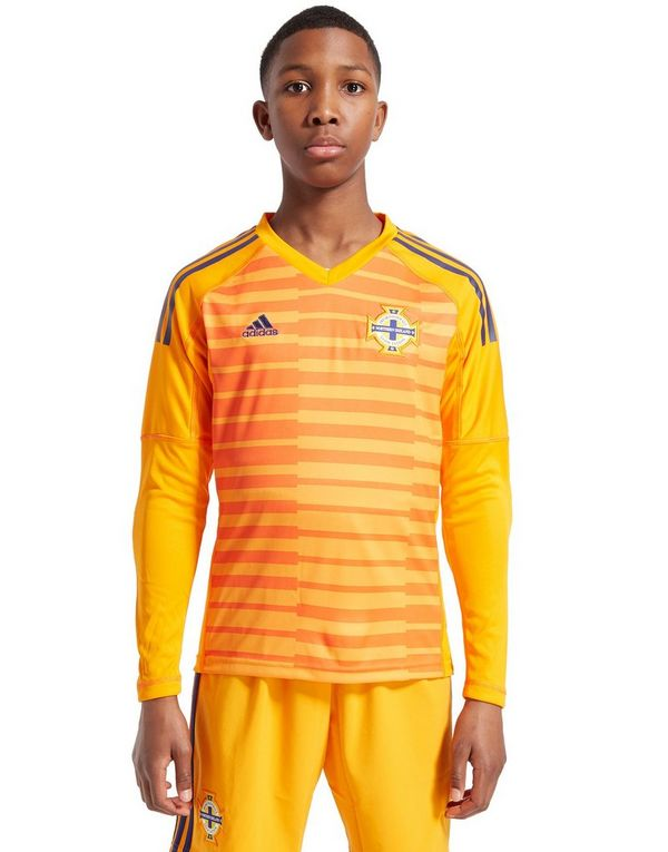 1c1bde2b860 adidas Northern Ireland 18 19 Home Goal Keeper Shirt Jnr