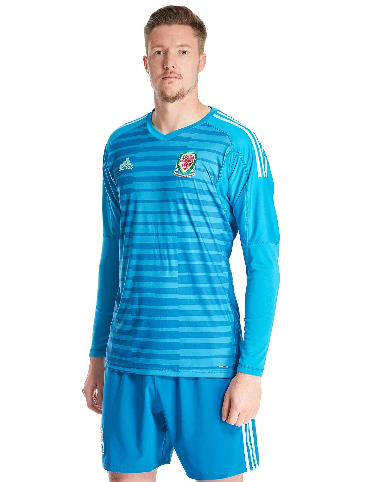 adidas Wales 2018/19 Home Goalkeeper Shirt