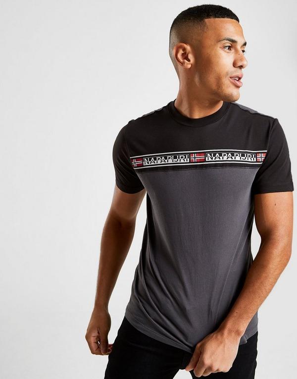 Napapijri camiseta Chest Tape