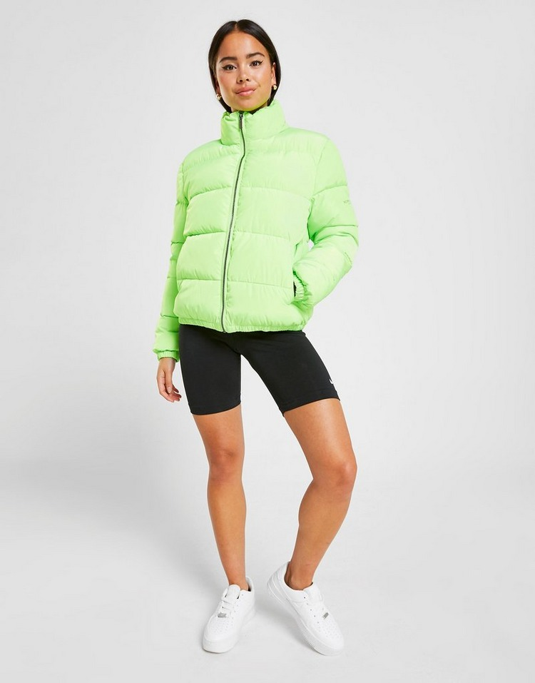 Supply & Demand chaqueta Logo Puffer