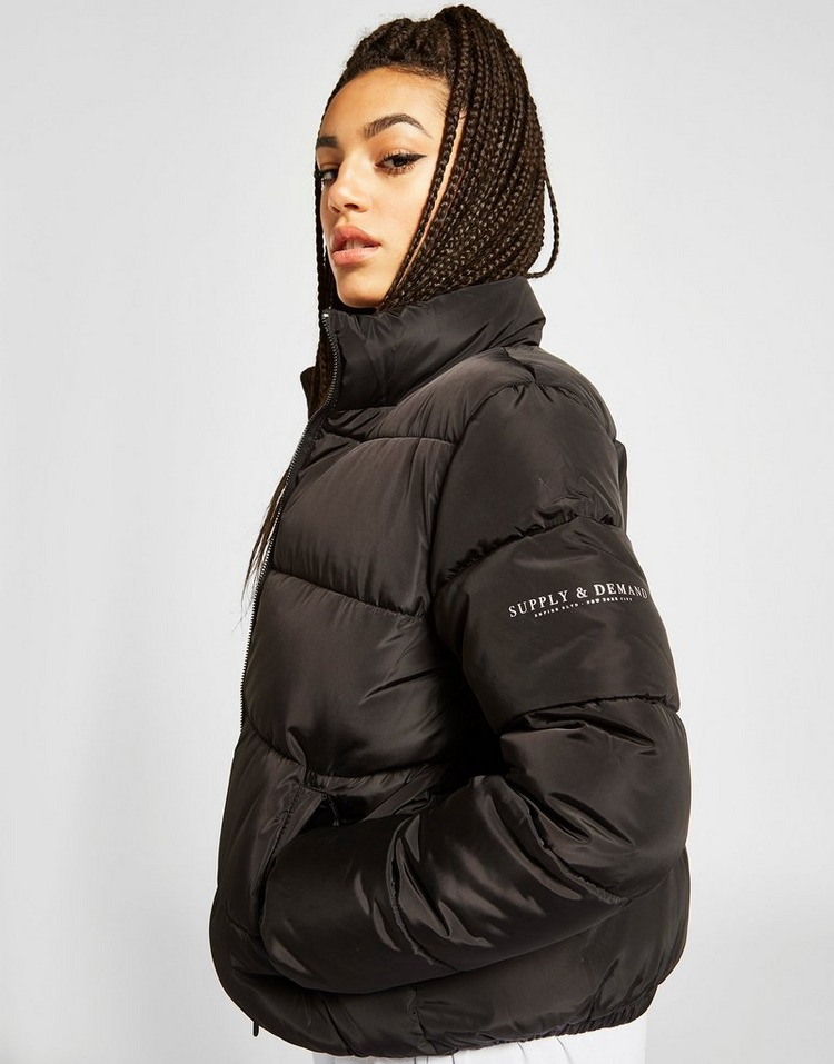 Supply & Demand Logo Puffer Jacket
