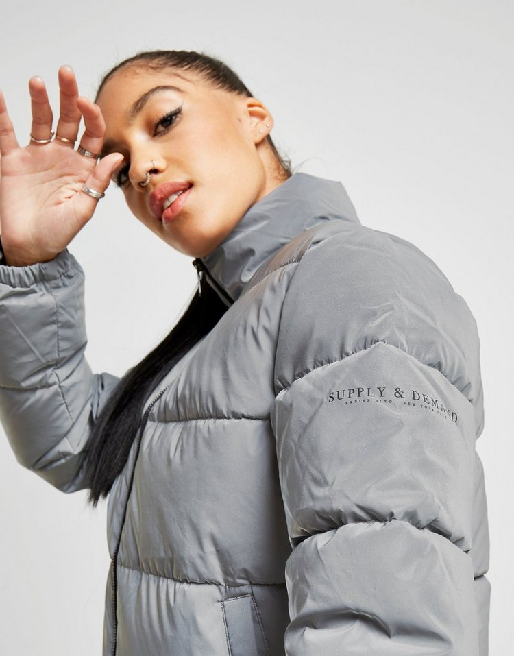 Supply & Demand Logo Puffer Jacket