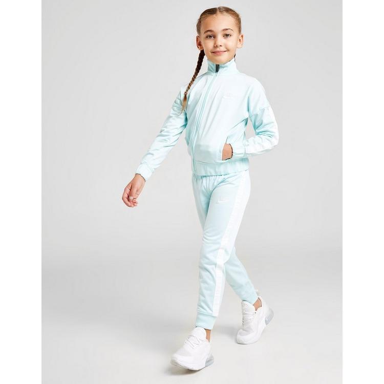 Nike Girls' Full Zip Tape Tracksuit Children