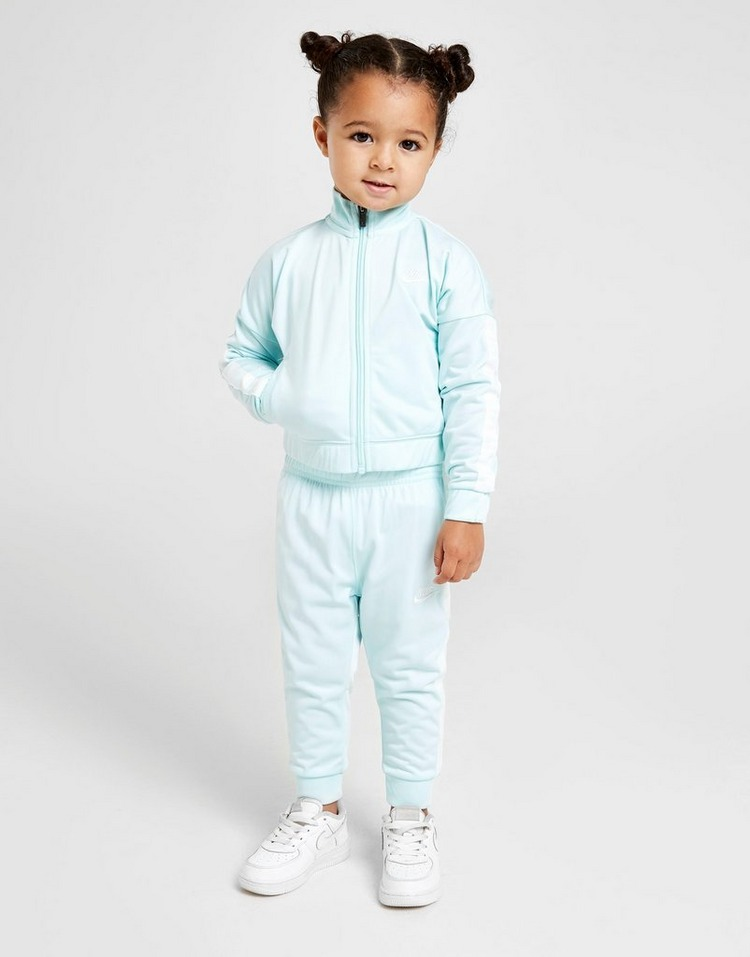 Nike Girls' Full Zip Tape Tracksuit Infant | JD Sports