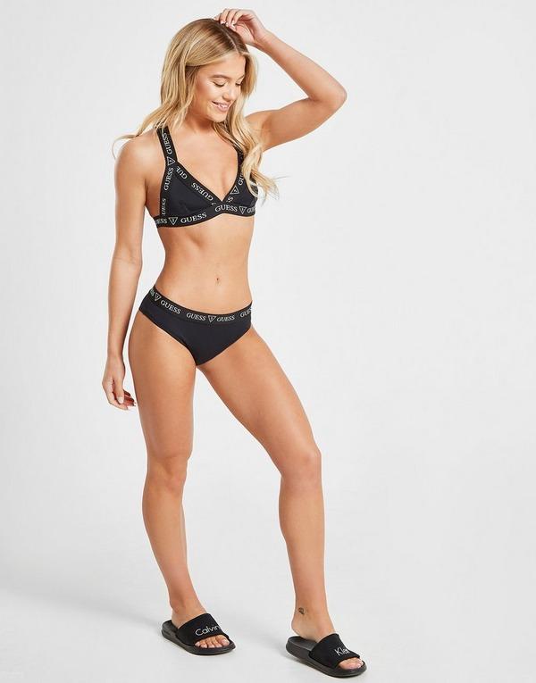 GUESS Tape Bikini Top
