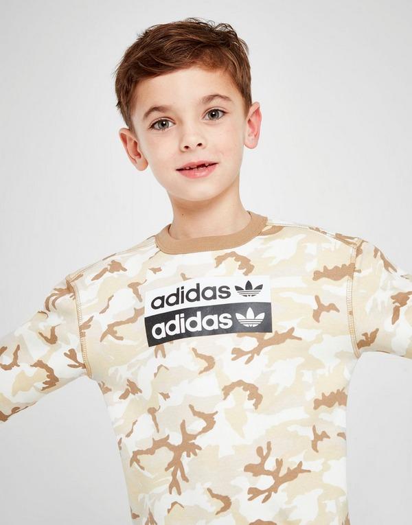 adidas Originals R.Y.V Crew Tracksuit Children