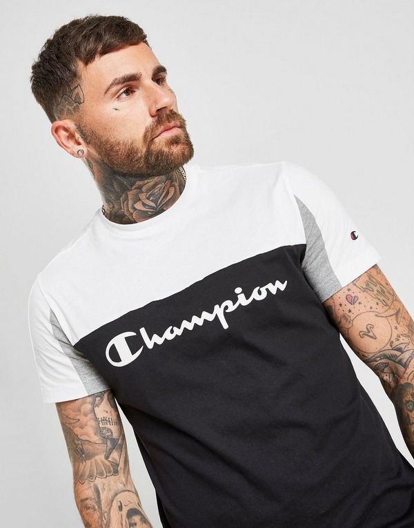 Champion Colour Block Large Logo T-Shirt