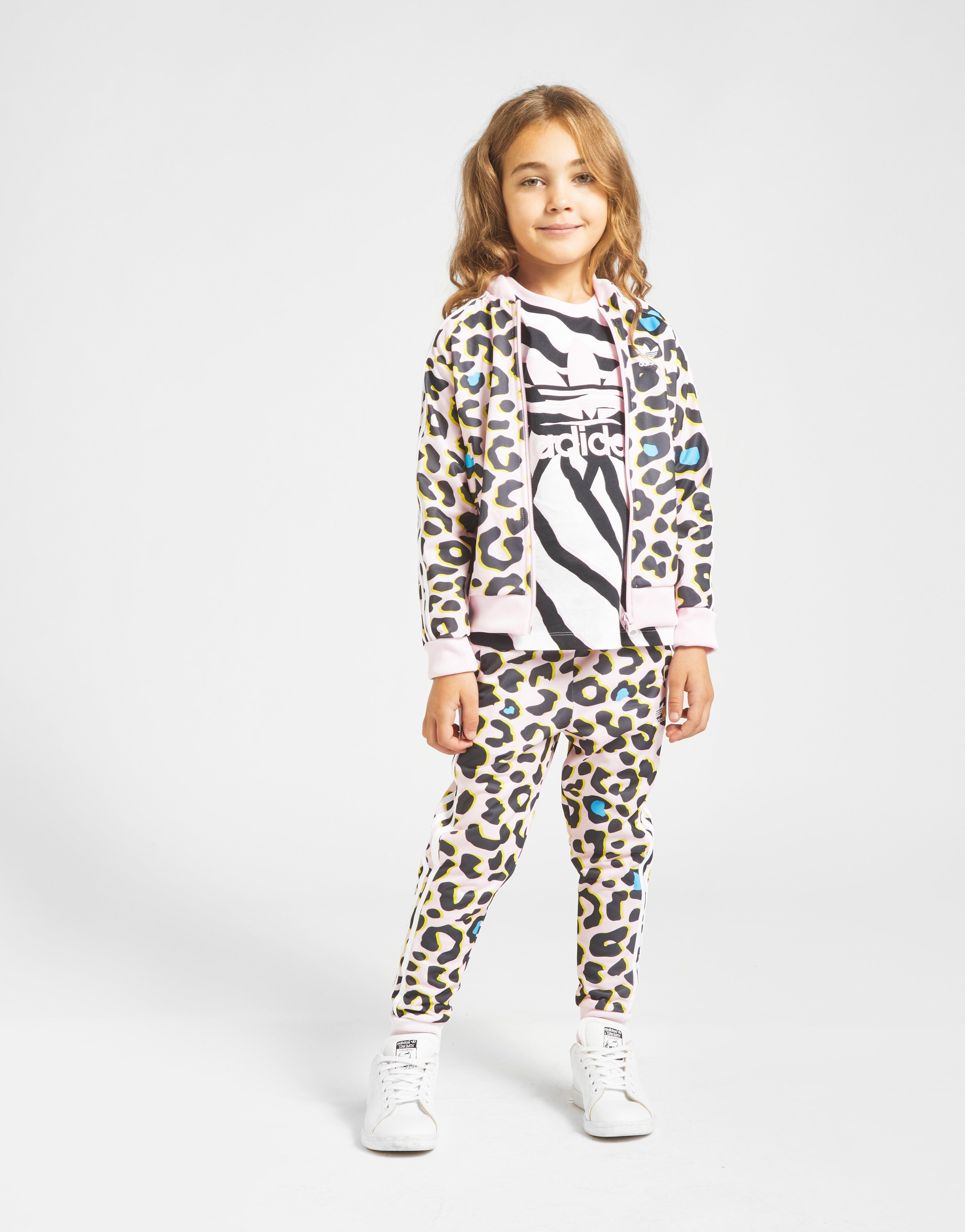 adidas Originals Girls' LZ All Over Print Tuta | JD Sports