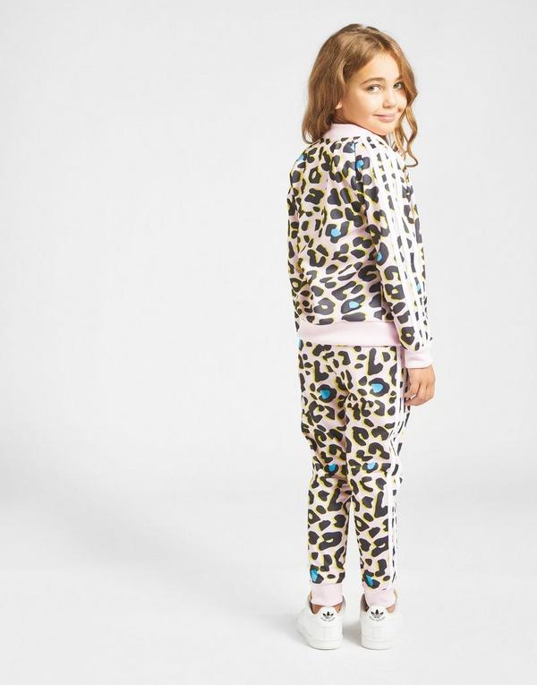 adidas Originals Girls' LZ All Over Print Tracksuit Children