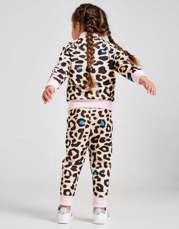 adidas Originals Girls' LZ All Over Print Tracksuit Infant