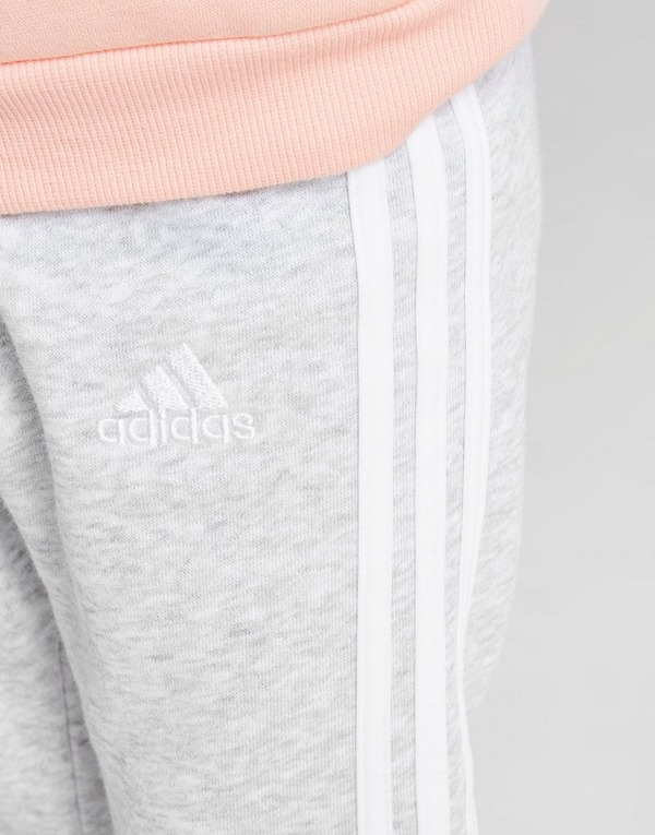adidas Girls' Badge Of Sport Logo Crew Tracksuit Infant