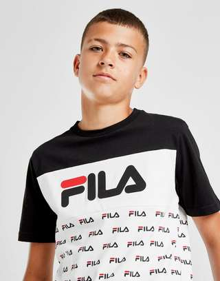 Fila Zachy All Over Print T-Shirt Junior