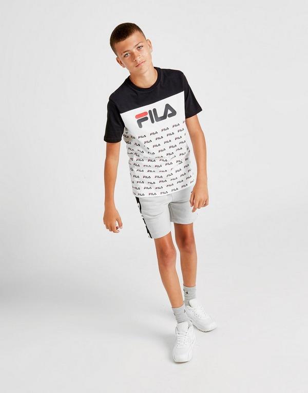Compra Fila camiseta Zachy All Over Print júnior en Negro