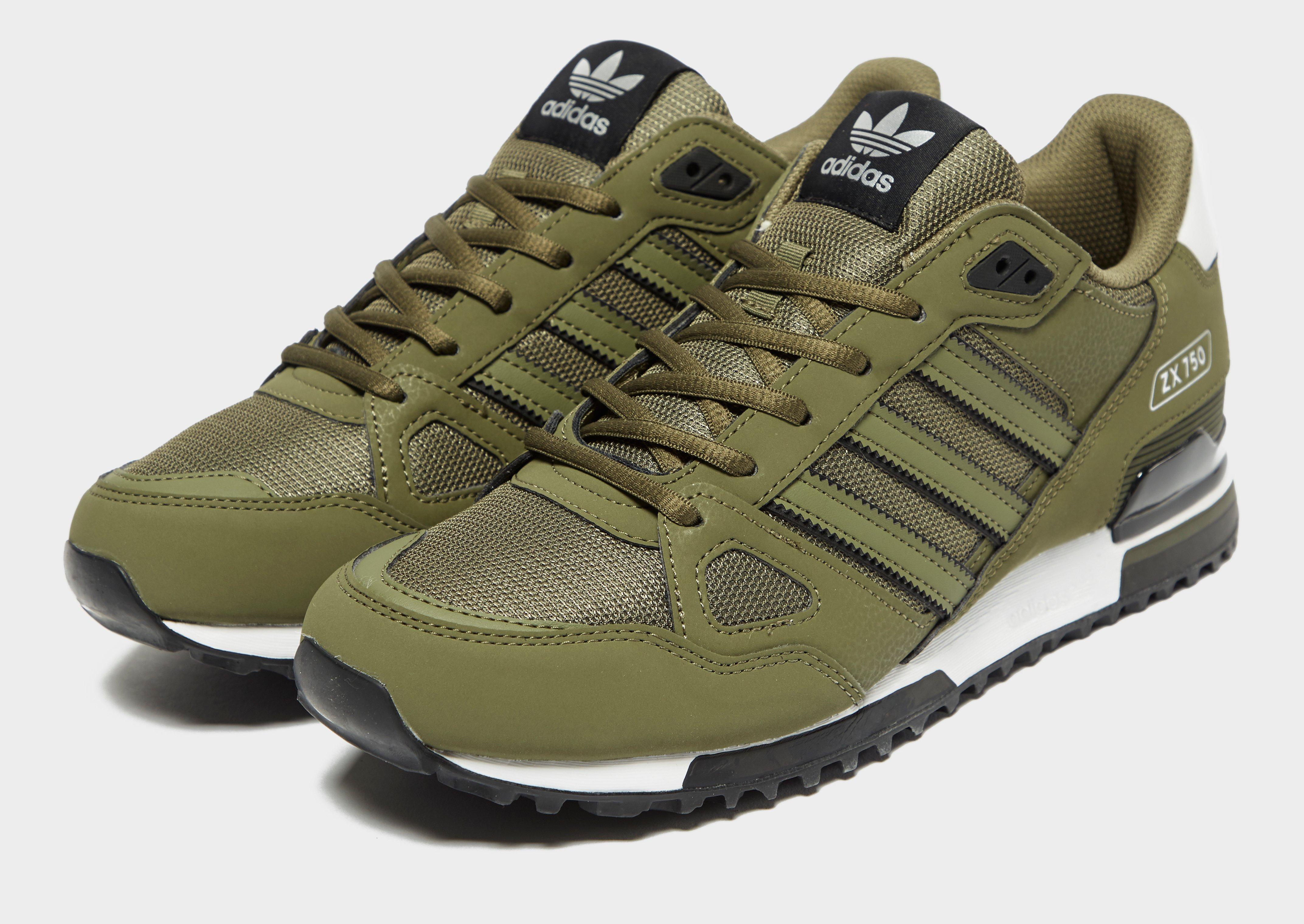 adidas originals zx 750 verde