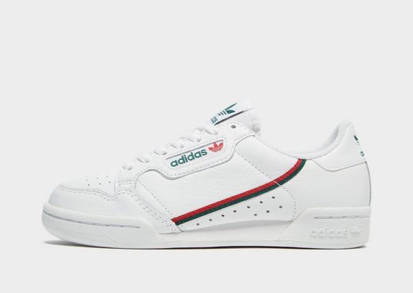Køb adidas Originals Continental 80 Dame i Hvid | JD Sports