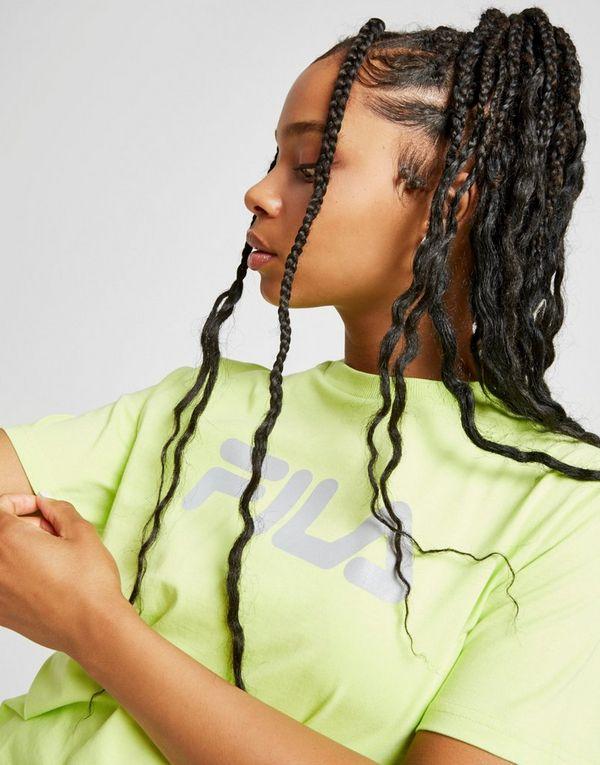 Fila Reflective Logo Boyfriend T-Shirt