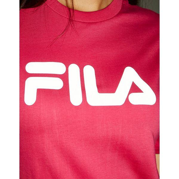 Fila camiseta Reflective Logo Boyfriend