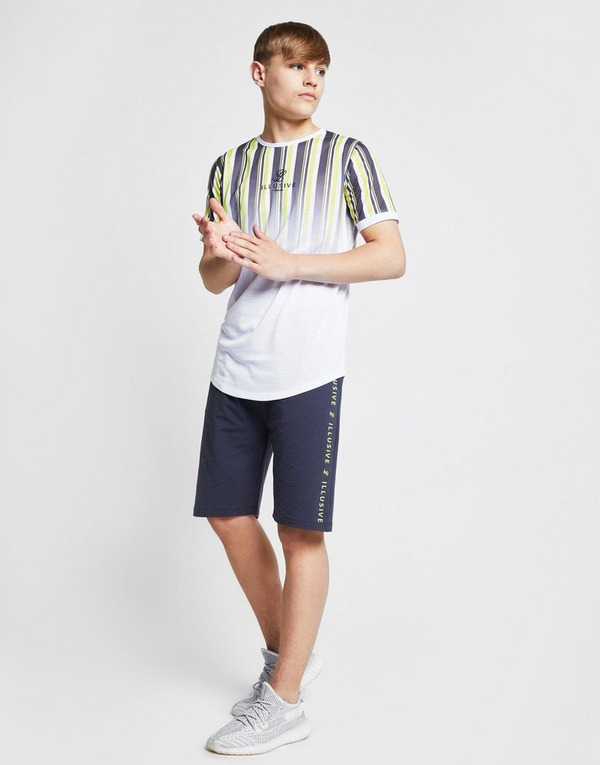 ILLUSIVE LONDON Stripe Fade T-Shirt Junior