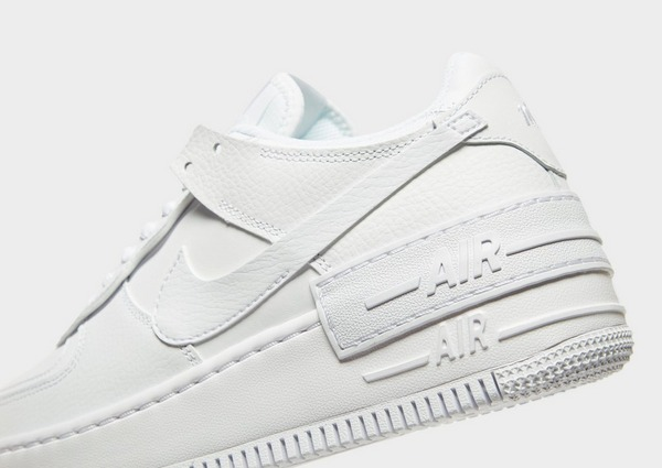 nike air force 1 shadow femme blanche