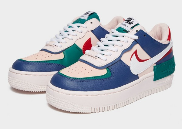 Acherter Bleu Nike Air Force 1 Shadow Femme | JD Sports