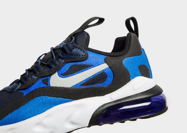 air max 270 react nere e blu
