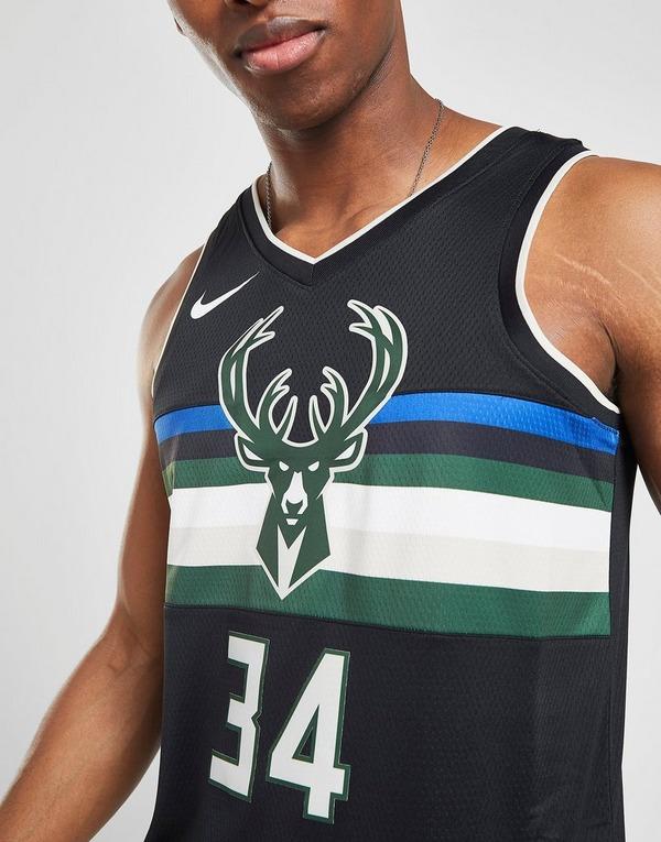 Nike NBA Milwaukee Bucks Antetokounmpo #34 SM Jersey