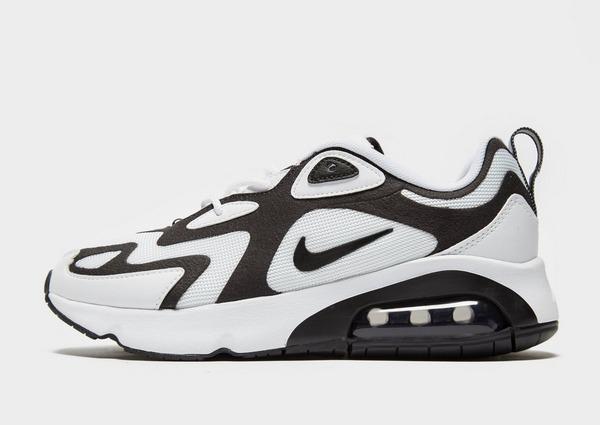 Køb Nike Air Max 200 Dame i Sort | JD Sports