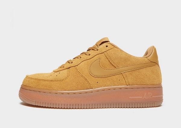Shoppa Nike Air Force Flax Junior i en Brun färg | JD Sports
