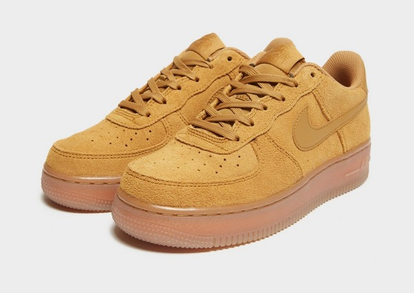 Acheter Brown Nike Air Force Flax Junior | JD Sports