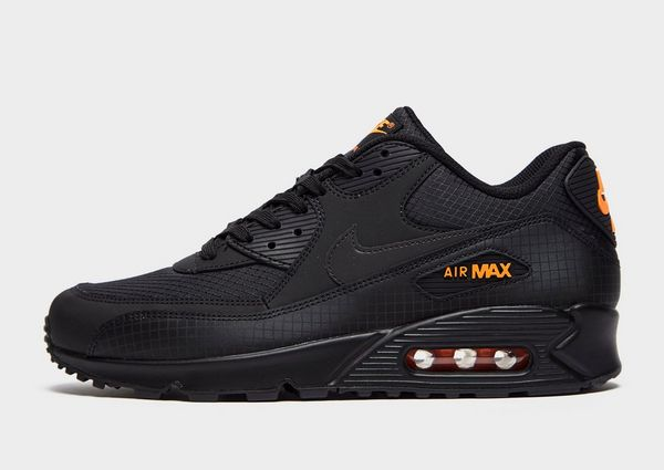 nike air max 90 black trainers men nz|Free delivery!