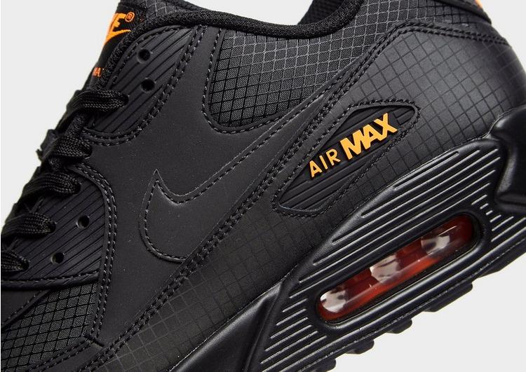 nike air max 90 herren schwarz orange