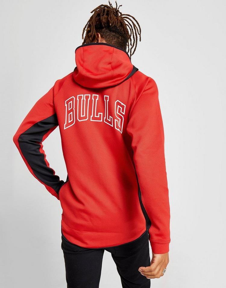 Acheter Red Nike Sweat à capuche NBA Chicago Bulls Showtime