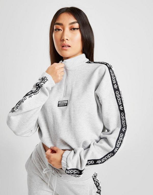 1/4 zip adidas sweatshirt
