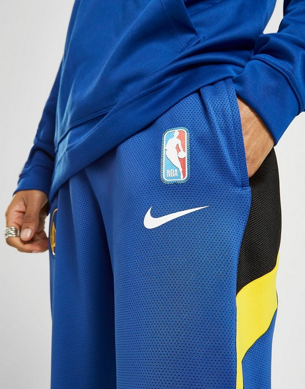 Buy Blue Nike NBA Golden State Warriors Showtime Track Pants