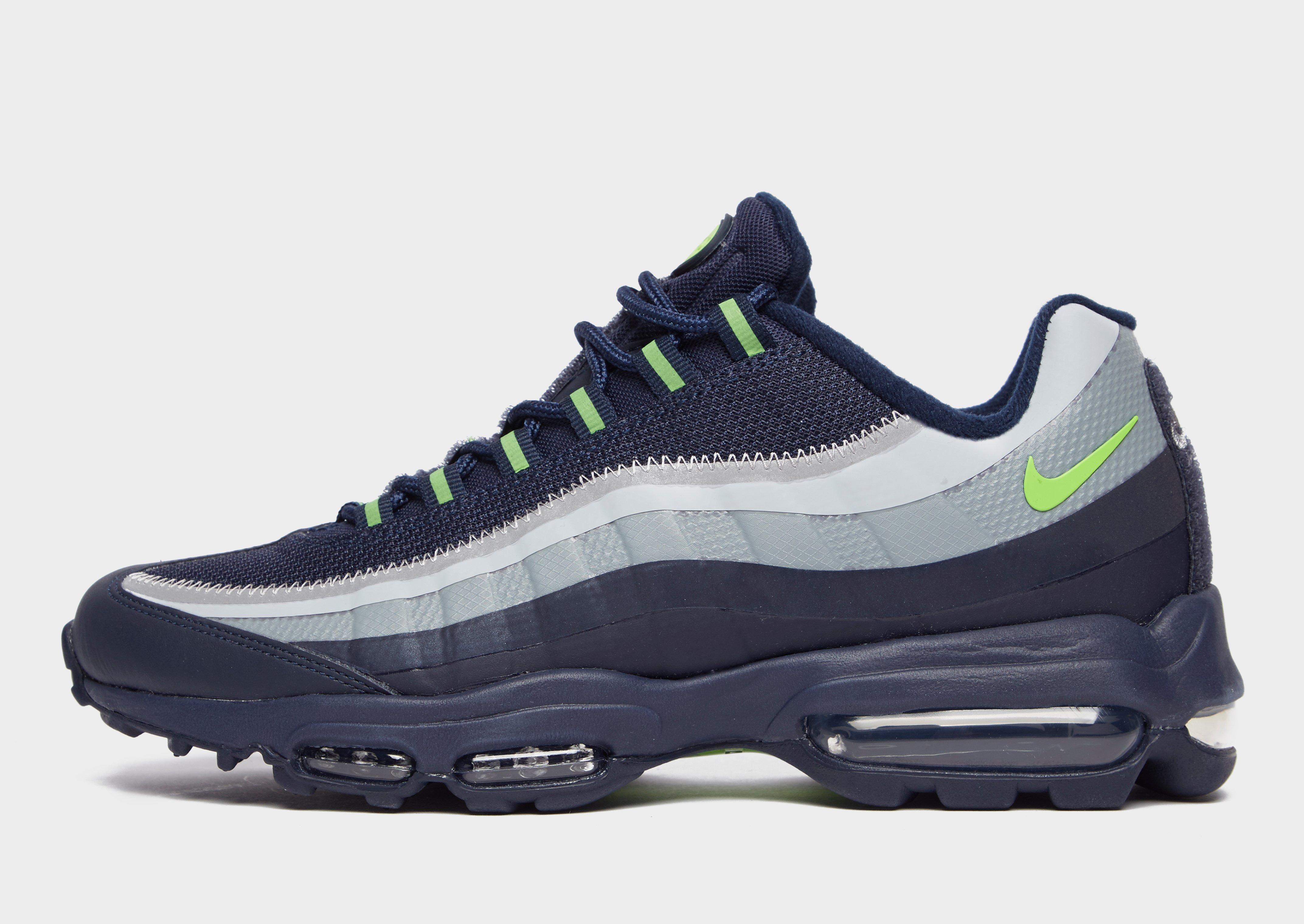 Shoppa Nike Air Max 95 Ultra SE Herr i en Blå färg | JD