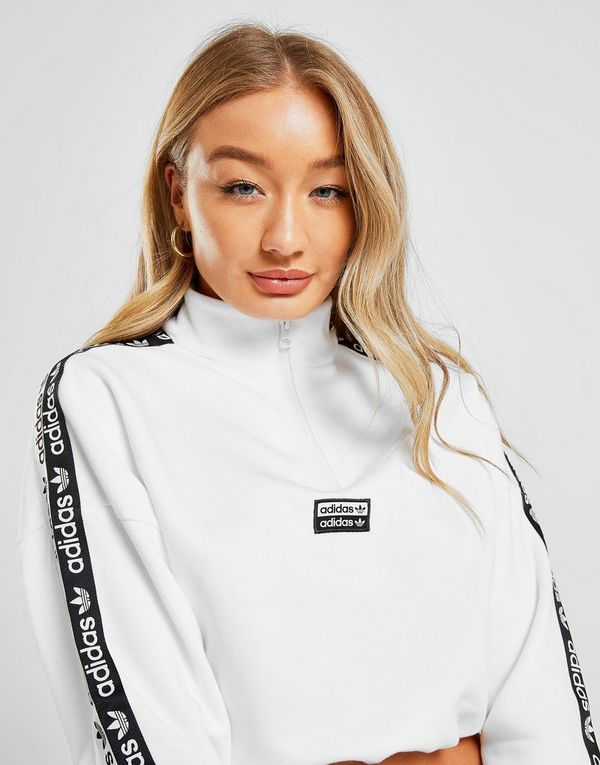 adidas Originals Tape 1/4 Zip Sweatshirt