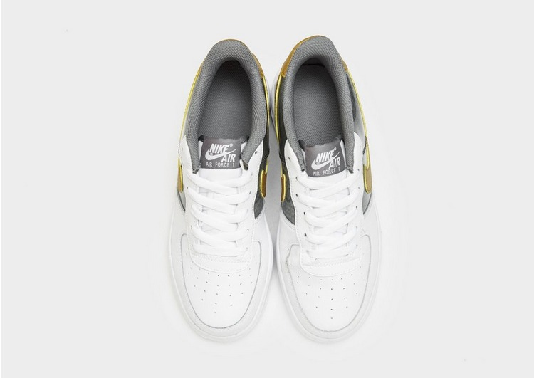 Buy White Nike Air Force 1 Low Junior JD Sports  JD Sports