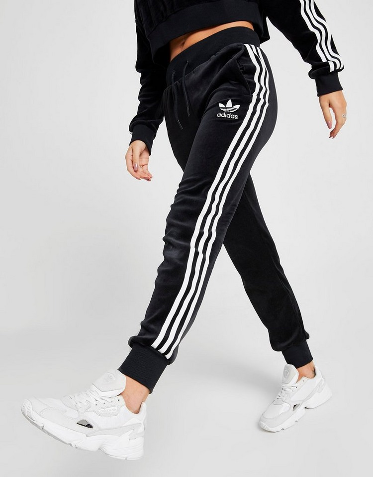 adidas Originals Jogging 3-Stripes Velvet Femme