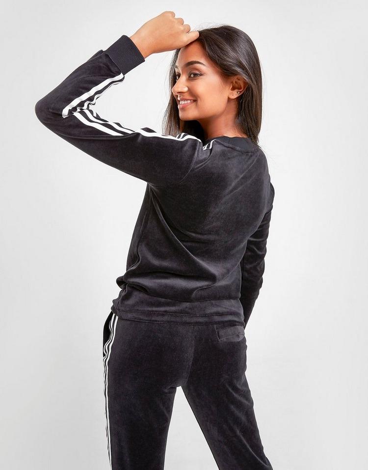 adidas Originals 3-Stripes Velvet Long Sleeve T-Shirt PRE ORDER
