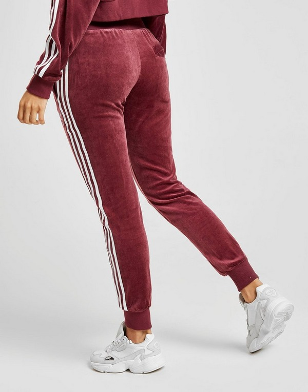 jogging femme velours adidas