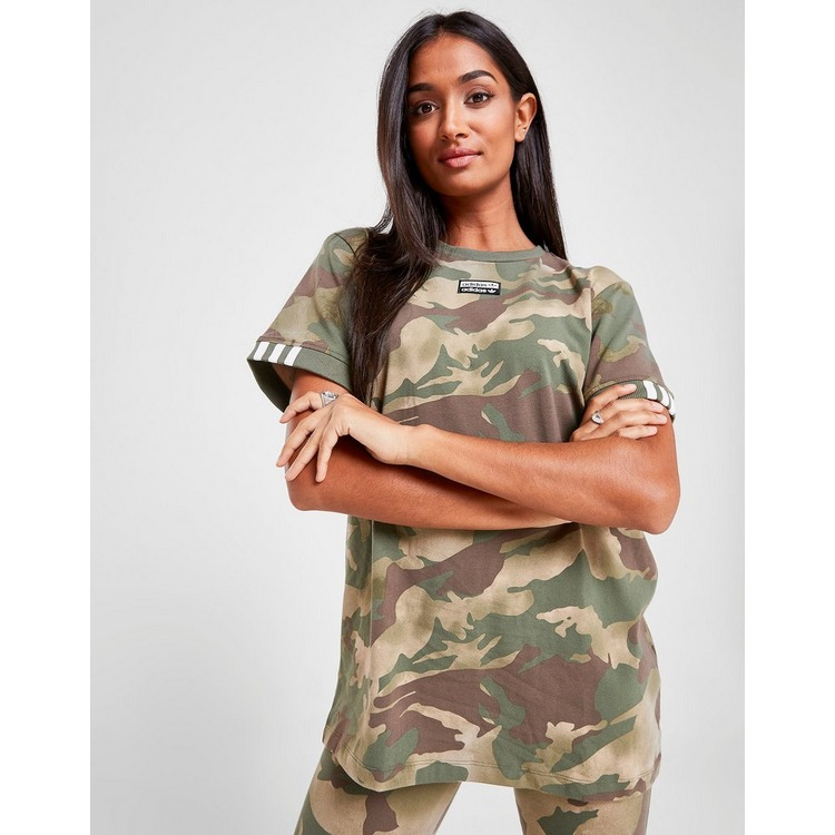 adidas Originals Camo Boyfriend T-Shirt