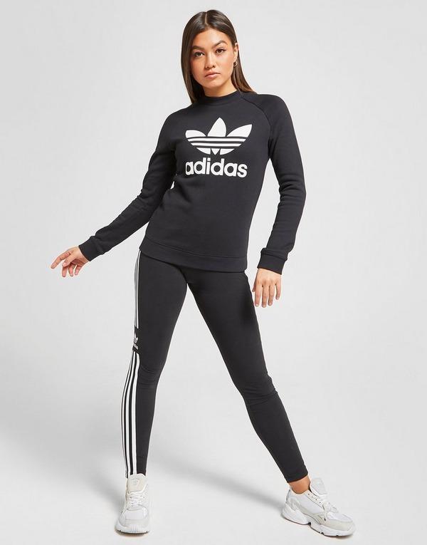 felpa adidas 3 stripes donna