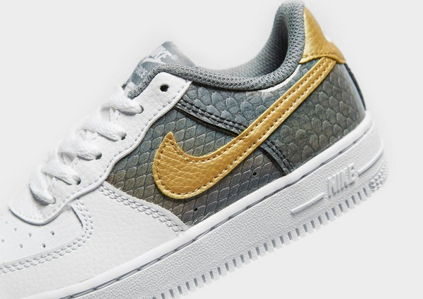Køb Nike Air Force 1 Low Børn i Hvid   JD Sports